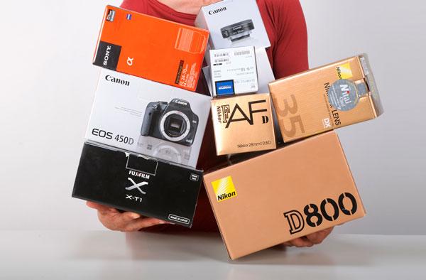 RCE Verona - vendita materiale usato fotografia e video